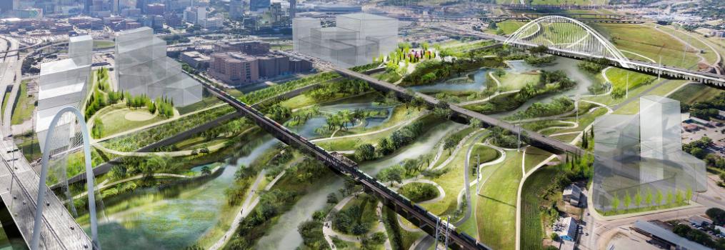 В Далласе за $600 млн планируют построить городской парк в 11 раз больше Центрального парка Нью-Йорка